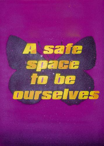 A safe space to be ourselves